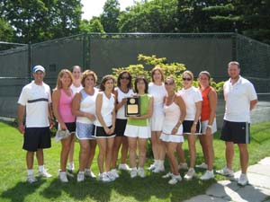 Interclub Tennis Team