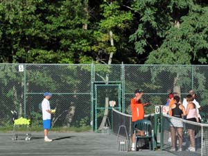 Outdoor Tennis Clinic